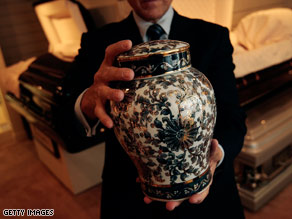 Reports suggest more people are turning to cremation to save on funeral costs.