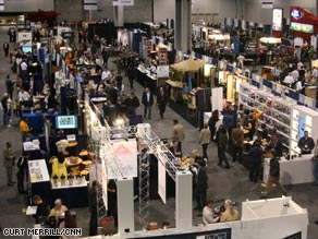 Growers, roasters and equipment manufacturers were represented at the coffee expo in Atlanta.