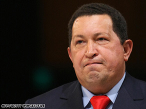 Venezuelan President Hugo Chavez used the Earth Day celebration to announce the transfer of Petty's Island.
