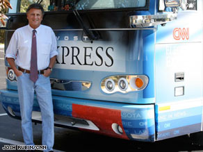 Bob Greene says John Madden has had a great perk: seeing America on his own bus.