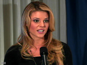 Miss California USA Carrie Prejean has gotten support from many same-sex marriage opponents.