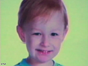 Joshua Childers was found OK on Wednesday after wandering away from his family's home in rural Missouri.