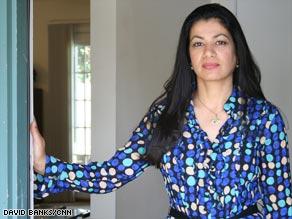 Iraqi refugee Zainab Ibrahim