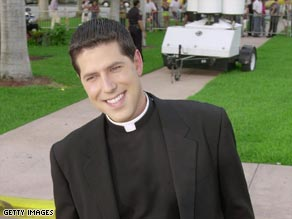 The Rev. Alberto Cutie was removed from his duties after pictures showed him bare-chested with a woman.