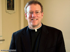 The Rev. Robert Barron says celibacy sets the priest apart as a symbol of the world to come.