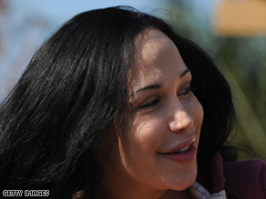 Nadya Suleman was the subject of controversy after giving birth to octuplets in January.