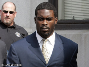 Michael Vick, 28, is serving a 23-month sentence. He is expected to be released from prison tomorrow and go under house arrest.