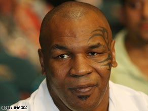 Former world boxing champion Mike Tyson traveled from Las Vegas to Phoenix to be at his daughter's bedside.