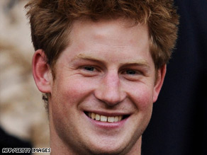 Prince Harry, 24, the third in line to Britain's throne, is making his first official trip overseas.