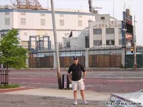 Tiger Stadium is now half-bulldozed, and a judge has ruled that the entire structure should be razed.