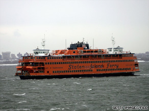 The New York Fire Department estimates that 750 to 800 passengers were aboard the Staten Island Ferry.