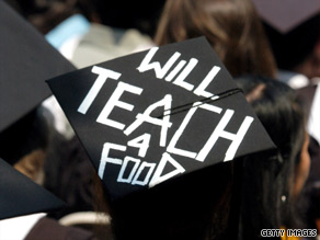 Students who graduate with college loan debt can use a repayment plan that will give lower monthly payments.