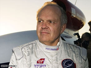Steve Fossett was the first person to fly a plane around the world solo without refueling.