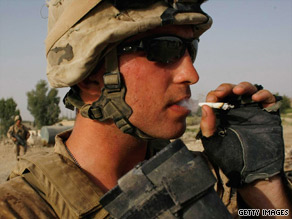 The Pentagon is considering a ban on the sale and use of tobacco in the military.