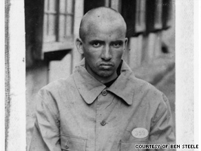 Ben Steele's portrait taken in 1945, after he survived three years of brutal captivity.