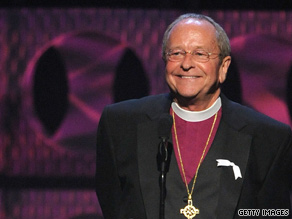 Gene Robinson is the Episcopal Church's first -- and so far only -- openly gay bishop.
