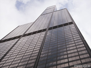 It still looks the same, but Sears Tower in Chicago, Illinois, will have a new name: Willis Tower.