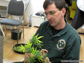 Lee owns a medical marijuana dispensary, a coffee house, and an indoor marijuana plantation.