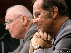 Former 9/11 Commission co-chairs Lee Hamilton, left, and Thomas Kean, in file photo, are leading new group.