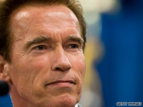 Arnold Schwarzenegger says a technical error shouldn't stop the law school graduate from taking the bar exam.