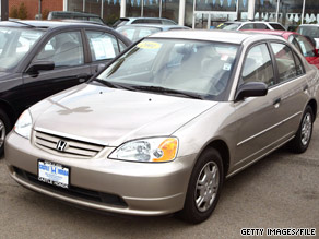 The 2001 Honda Civic Is Among Vehicles Covered By Recall