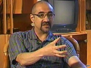Kian Tajbakhsh, in an image taken from an interview on Iranian state TV in 2007.