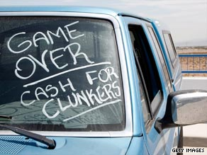 Industry group: Give dealers extension on 'Clunkers' data