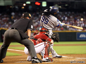 Celebrate 9/9/09 by watching L.A. Dodgers number 99 Manny Ramirez Wednesday night in Arizona.