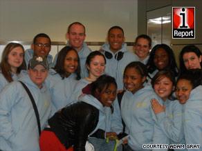 Teacher Adam Gray took members of Mu Alpha Theta to Washington as a reward for their hard work.