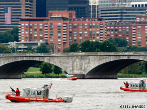 Coast Guard Vice Adm. John Currier says the training event on the Potomac was a routine exercise.