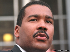 "Dexter King has denied taking ""substantial funds"" from his parents' estates."