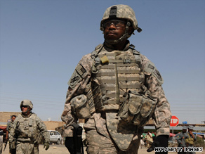 U.S. Army commanders in Afghanistan say the current uniform does not blend well in the countryside.