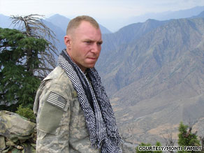 Sgt. 1st Class Jared Monti is one of six Medal of Honor recipients -- all awarded posthumously -- in current wars.