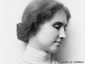 Helen Keller gets statue at Capitol
