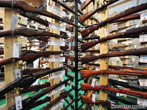 It is illegal for unlicensed sellers to sell a gun if there is reason to think the buyer would fail a background check.