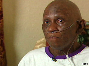 Mable Randon, who has stage 4 cancer, was denied help paying for electricity, which she needs to power her oxygen tank.