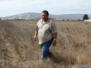 Farmer John Carillo says he was turned down for a USDA loan because of discrimination.