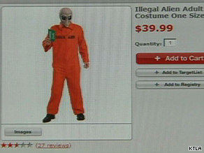 "Despite the controversy, some stores say the ""Illegal Alien"" costumes have been a hit."