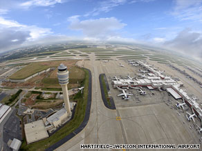 The pilots of the plane that landed at the Atlanta airport have been relieved from flying duties pending probes.