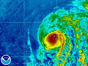 Hurricane Felicia is expected to reach Hawaii by Monday and continue to weaken on its way.