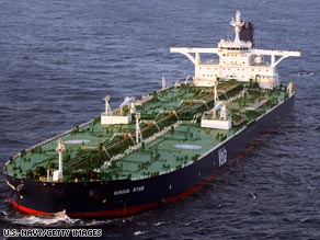 The Liberian-flagged oil tanker Sirius Star was recently released by pirates off Somalia.