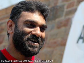 Kumi Naidoo, honorary president of CIVICUS, Zimbabwe, hunger strike, fast