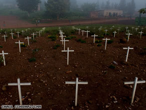 At least 800,000 people are thought to have died during 100 days of violence in Rwanda in 1994.