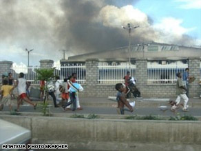 At least 48 people were killed during the riots that broke out in Madagascar.