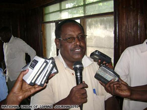 Said Tahlil Ahmed was killed on Wednesday.  Three days later, another Somali journalist was attacked.