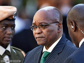 African National Congress leader Jacob Zuma maintains he is innocent of corruption charges.