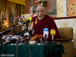 The Dalai Lama fled China in 1959 after a failed uprising against Chinese rule.