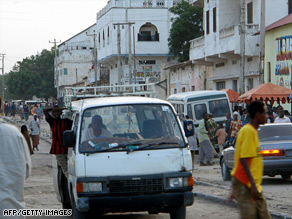 The Bakaraha market in Somalia's capital is one of the most dangerous areas of the city.