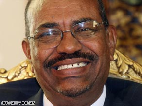 Omar al-Bashir is the subject of an ICC arrest warrant over allaged war crimes in Darfur.