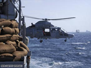 International naval patrols have been stepped up in the Gulf of Aden following increased pirate attacks.